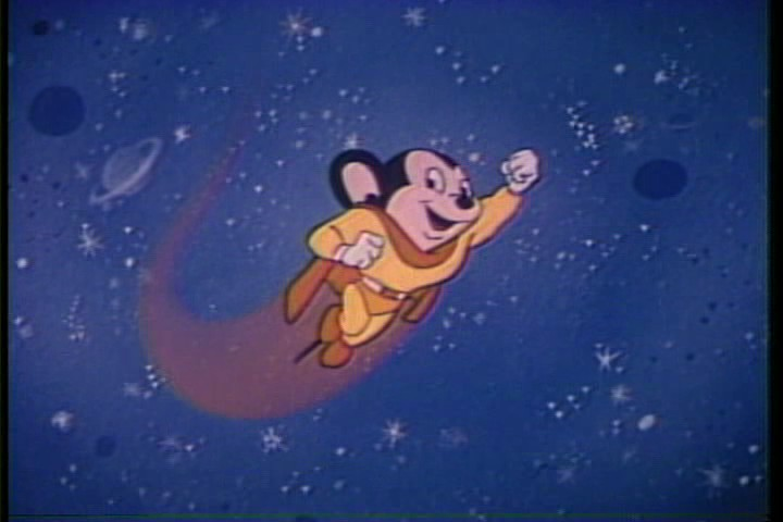 Still frame from the animated cartoon